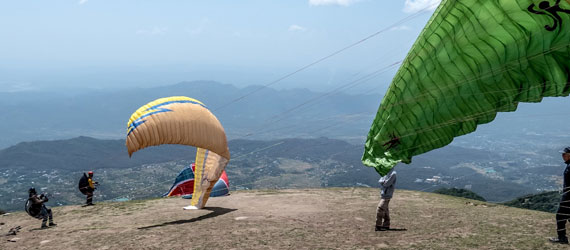 Tandem Paragliding at Bir Billing with Stay